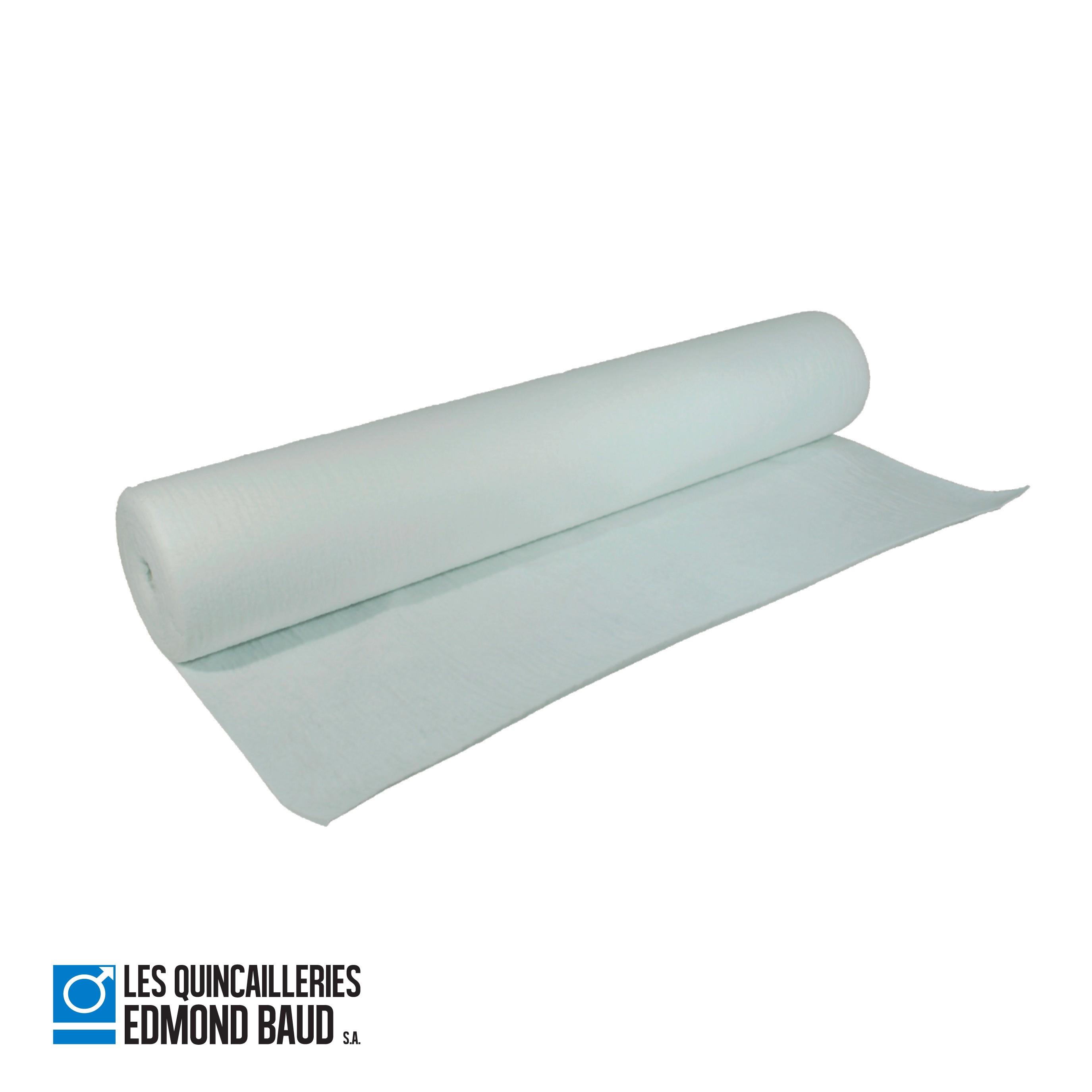 Protection de sol blanche non-tissée 8 ou 8 gr/m8
