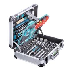 """Coffre à outils """"PRO CASE 5"""" 140-pcs."""