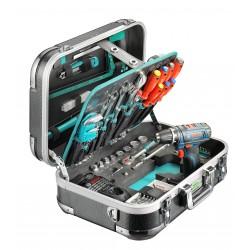 """Coffre à outils ABS """"PRO CARBON GSR"""", 124-pcs."""