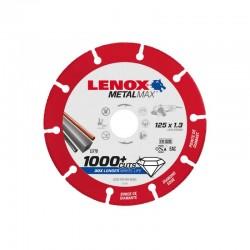 Disque de coupe LENOX METALMAX™ 125 x 1.3 mm