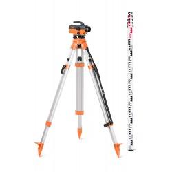 Niveau optique de chantier 400 gon grossissement 32x N32-pack