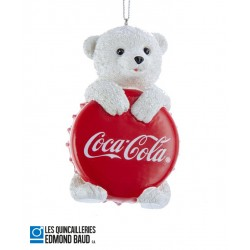 Décoration de Noël - Ourson capsule Coca-Cola ®