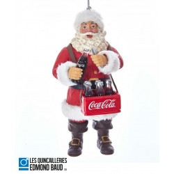 Décoration de Noël - Père Noël Coca-Cola ®