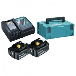 Energypack Avec chargeur rapide et 2 accus 18v 4,0AH