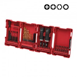 Coffret D'embouts Shockwave Impact Duty 62 pièces Milwaukee