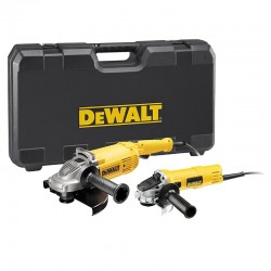 Set De 2 Meuleuses Angulaires 230 Et 125mm DWE494TWIN DeWalt