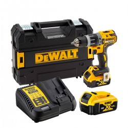 Perceuse/Visseuse À Percussion XR 18V + 2 Accus DCD796P2-QW DeWalt