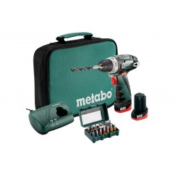 Set Perceuse-Visseuse 10.8V Powermaxx BS SET Metabo