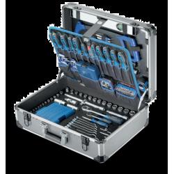"""Coffret D'outils En Alu 1/4"""", 1/2"""" 244-Pcs Asphalt"""
