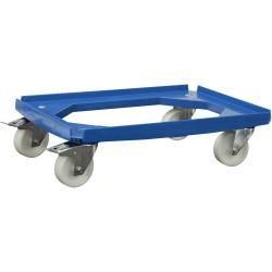 Chariot à roulettes Alutec