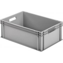 Caisse en plastique fermée 600×400×220 Alutec
