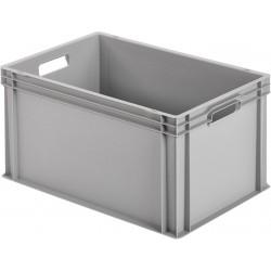 Caisse en plastique fermée 600×400×320 Alutec