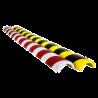 Amortisseur de chocs - Demi-cercle pour tube Ø50mm