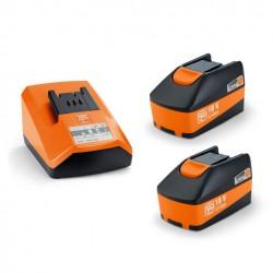 Set de démarrage batteries FEIN 18V - 2x 5.0Ah