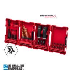 Coffret 62 pièces MILWAUKEE Impact Duty™ sets