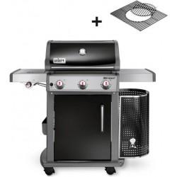 Grill Weber Spirit E-320 Premium GBS, Black Gourmet BBQ System